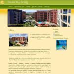 Przykładowa strona ww dla wynajem apartamentów