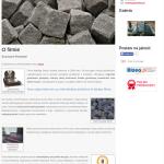 Przykładowa strona dla zakładu kamieniarskiego, parapety granitowe strzegom, schody granitowe strzegom, nagrobki strzegom