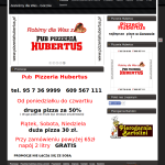 Przykład strony pizzerii, pizza gorzów,pizzeria gorzów